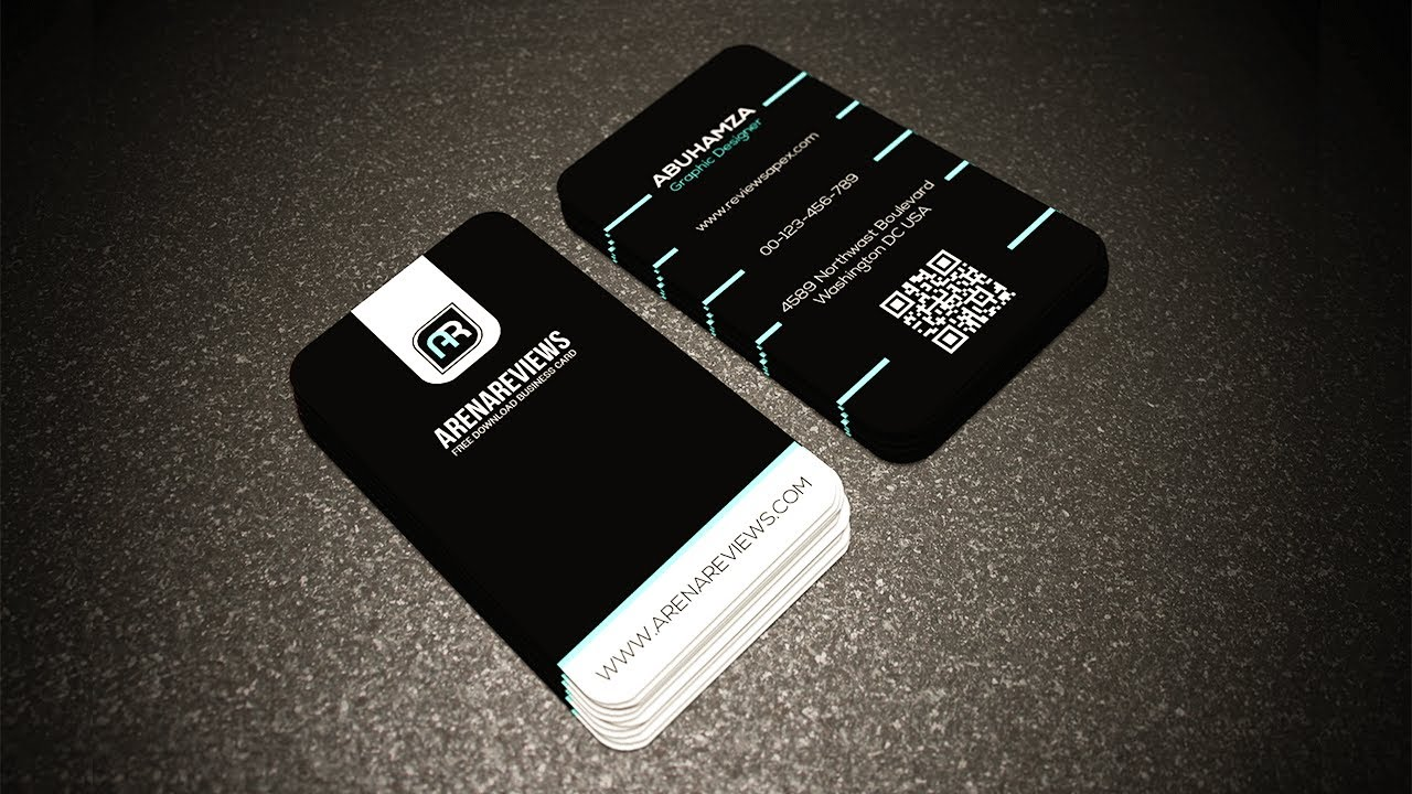 Corporate Black White With Business Card Template Llustrator Cc