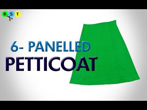 6 Panelled Petticoat- Cutting & Stitching thumbnail