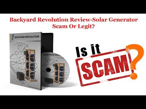 Bakyard Revolution Review-3D Solar System Scam Or Legit?