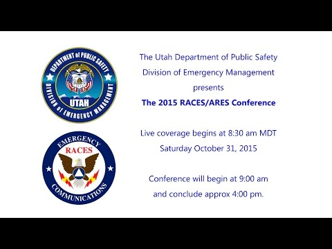 2015 Utah RACES/ARES Conference