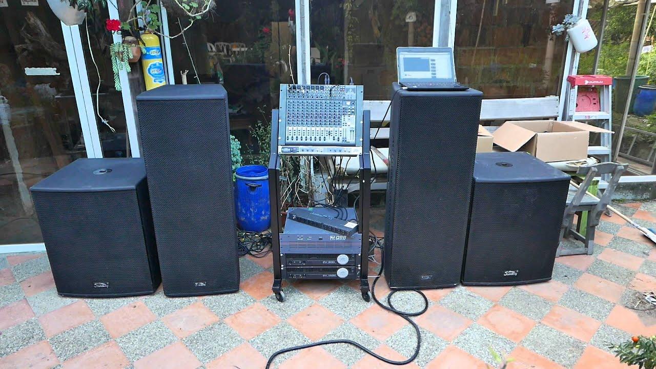 Alquiler de sonido profesional para eventos youtube - Muebles para equipo de sonido ...
