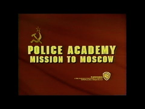 POLICE ACADEMY MISSION TO MOSCOW MOVIE TRAILER [VHS] 1984