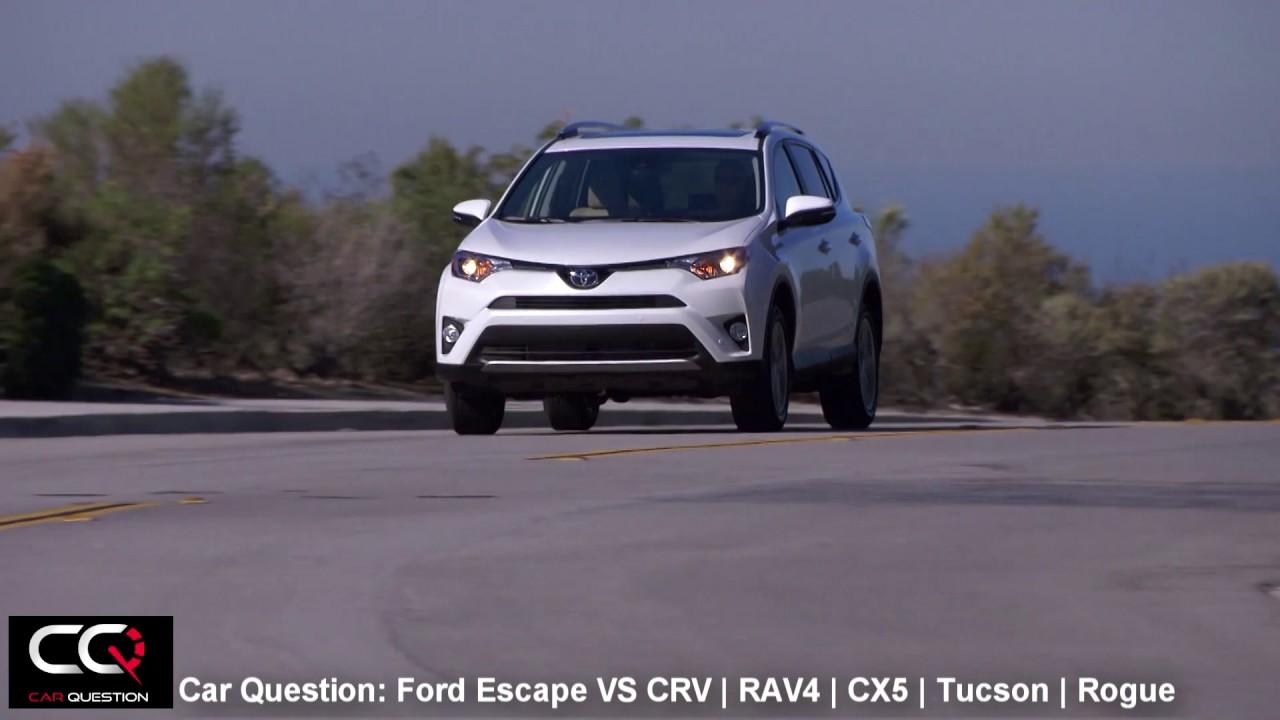 2017 Ford Escape VS Honda CRV  Toyota RAV4  CX5  Tucson