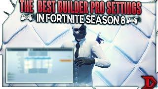 The BEST Builder Pro Settings in Fortnite Season 8