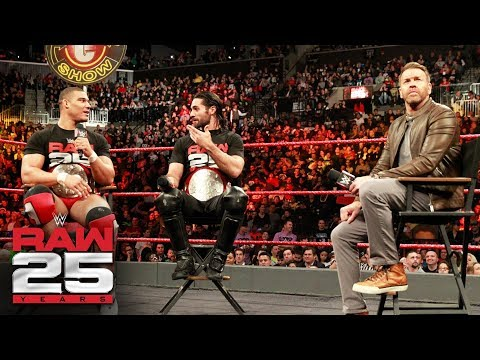 "Christian invites Seth Rollins & Jason Jordan to ""The Peep Show"": Raw 25, Jan. 22, 2018"