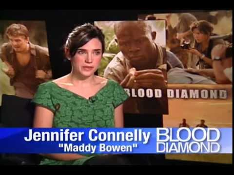 Jennifer Connelly interview for Blood Diamond