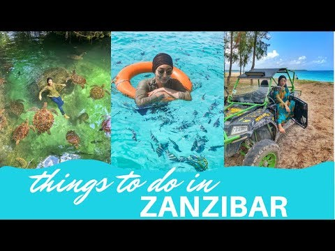 THINGS TO DO IN ZANZIBAR | TANZANIA