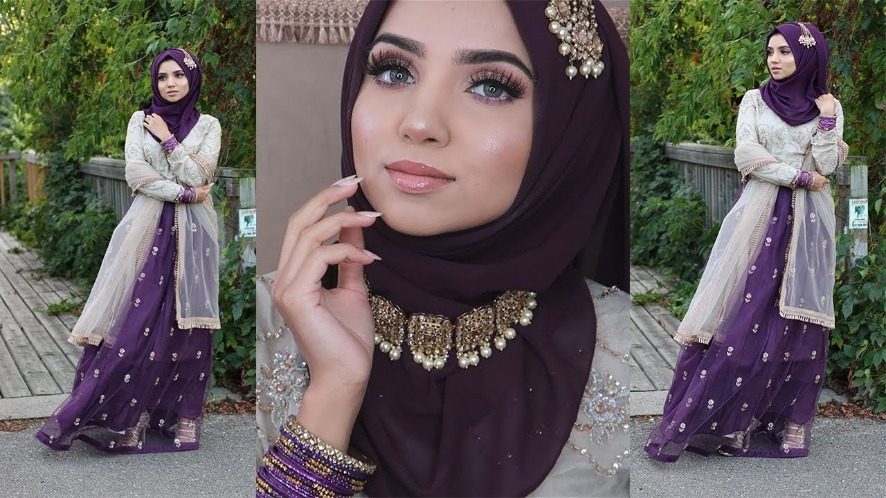 GRWM: Pakistani/Indian Wedding Party + Full Outfit details | GIVEAWAY