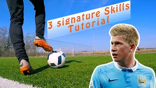 Kevin De Bruyne - 3 Signature Skills - Tutorial