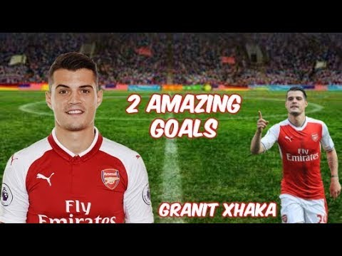Granit Xhaka scores 2 AMAZING goals !!! | HD