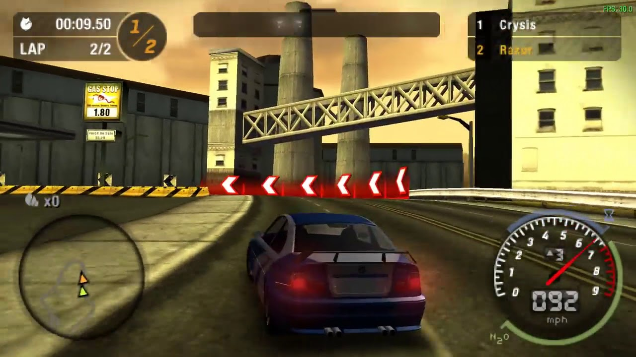 Psp android) need for speed: most wanted   ppsspp android   best.