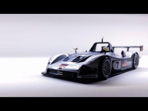 Audi R8R Le Mans 1999 1:43 scale (Minichamps)