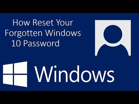How to Reset Your Forgotten Password in Windows 10 (Without Software)