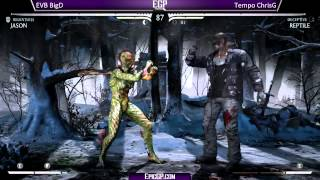 EVB Big D (Jason) vs Tempo Chris G (Reptile)