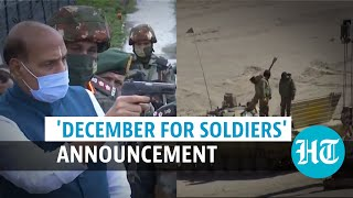 Amid China stand-off & Pak terror, govt dedicates December to armed forces
