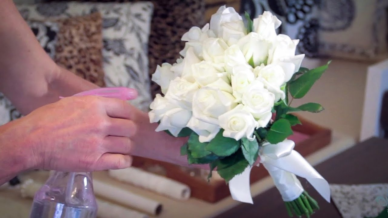 Bouquet Sposa Youtube.How To Make A Rose Bouquet Floristry Tutorial Youtube