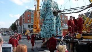 Limerick Giant Royal De Luxe ,Limerick City Of Culture ,Sept.7th 2014.