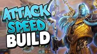 Smite: Chronos Attack Speed Build - SWINGING SO FAST AND SO HARD!