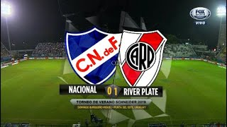 Nacional vs River Plate (0-1) Torneo de Verano 2019 - Resumen FULL HD