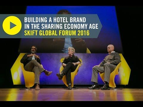 Standard CEO Amar Lalvani And Bunkhouse COO Liz Lambert At Skift Global Forum 2016