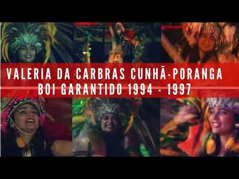Valéria de Cabras Cunhã-Poranga Boi Garantido - 1994 - 1997