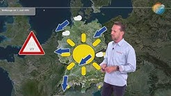 Wettervorhersage für 1. Juni 2020. So startet der Sommer. Das 3 Tage-Wetter. Sonniger Sommerstart.