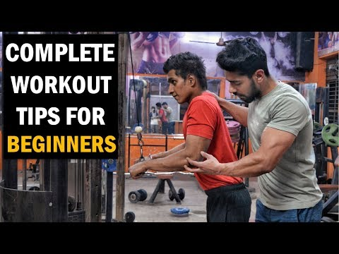 TOP 5 Gym Workout Tips for Beginners in Hindi