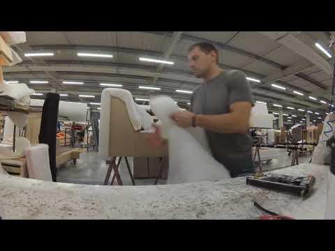 Работа на мебельной фабрике в Польше . Часть 3