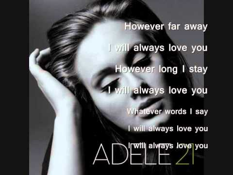 Adele - Lovesong lyrics *____________*