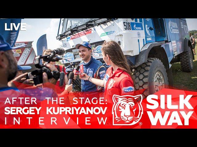 After the stage: Sergey Kupriyanov Interview // SWR2021