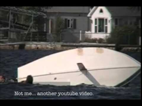 Sailing A Sunfish Sailboat In Canada, And Then Turtling It!