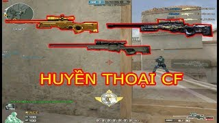 Crossfire : TOP 3 Khẩu Sniper Khét Tiếng 1 Thời Đột Kích | Huy Hai Huoc