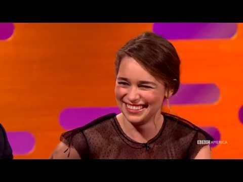 Emilia Clarke Watched THAT Game of Thrones Episode With Her Parents - The Graham Norton Show
