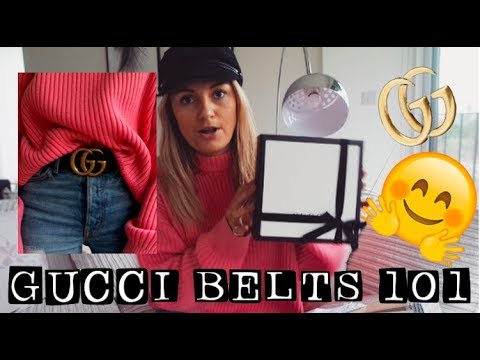 GUCCI BELT HAUL UNBOXING | COMPARING THE MENS V'S WOMENS VERSION