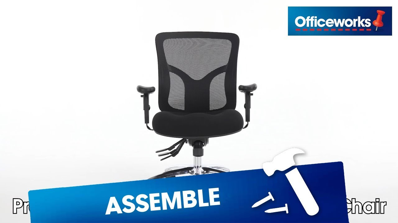 Professional Ergonomic Chair Assembly Instructions Youtube