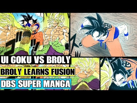 Beyond Dragon Ball Super: Ultra Instinct Goku Vs Broly! Goku Teaches Broly Fusion!