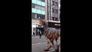 Dinosaur at Oxford Circus!