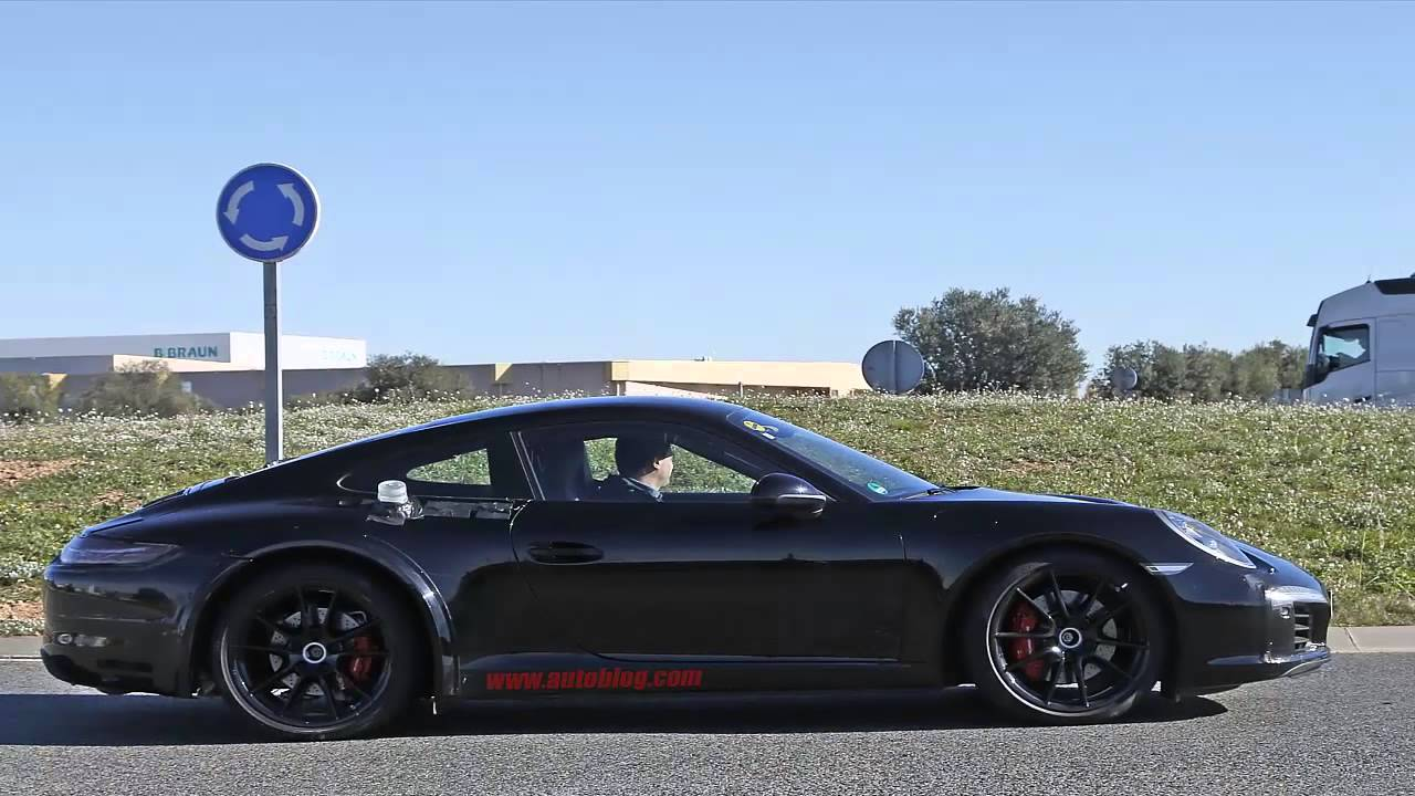 2018 Porsche 911 Gt3 >> Next Generation Porsche 911 be 992 in Spy Shots - YouTube