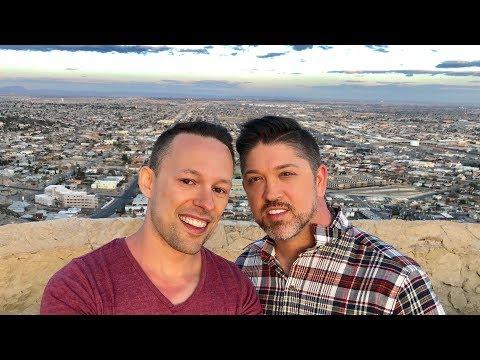 We drove to El Paso, Texas! 🚗👨❤️👨🇺🇸 Gay Travel Video