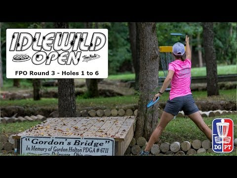 FPO Round 3, Part 1 - Idlewild Open driven by Innova Discs and The Nati Disc Golf