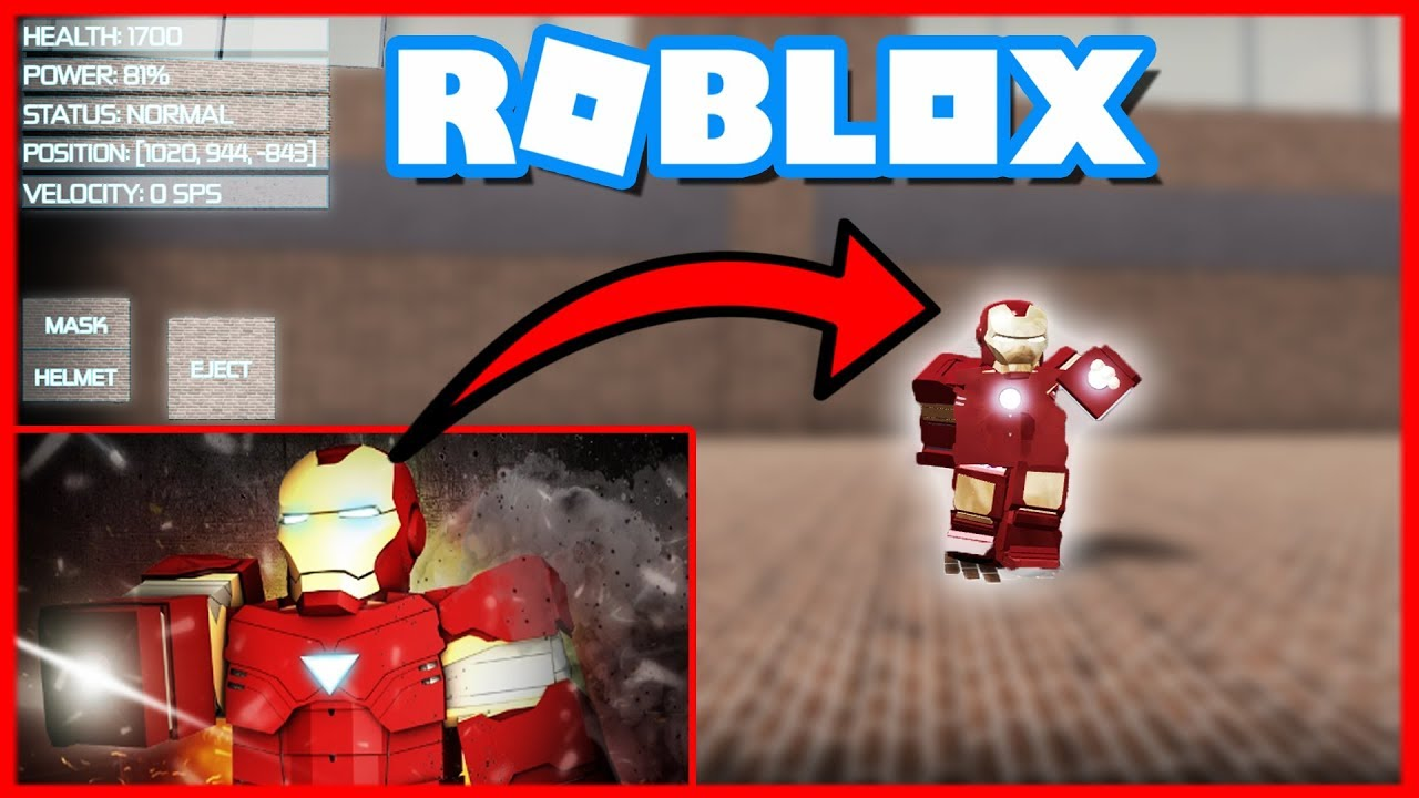 como ser iron man en roblox admin hack  mobile roblox site