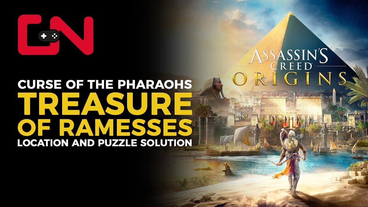 AC Origins Treasure of Ramesses Puzzle Solution & Location ...