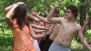Немного индийского кино... ДОЛ Каштан, конкурс старших отрядов, 3 см 2011