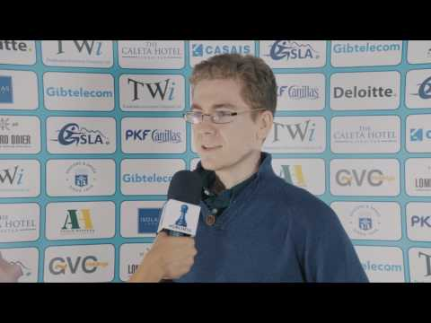 Round 9 Gibraltar Chess post-game interview with David Anton