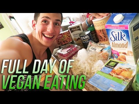Vegan Full Day of Eating | Harder Than I Thought!