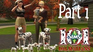 Sims 3: 101 Dalmatians Challenge~part 1