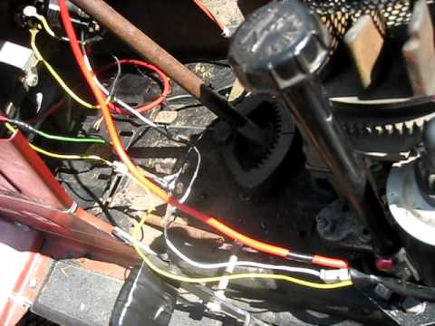 hqdefault lawn mower wiring problems! youtube yard machine riding mower wiring diagram at aneh.co