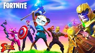 Fortnite Avenger End Game Mode! Combo Beats Thanos??