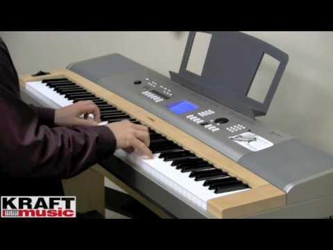 Kraft Music - Yamaha YPG-635 Digital Piano Demo