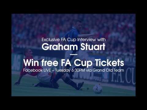 📺 | Facebook LIVE with Graham Stuart @ Goodison Park